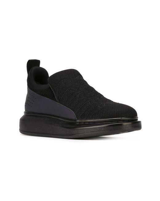 Кроссовки С Выступающей Подошвой Alexander McQueen                                                                                                              чёрный цвет