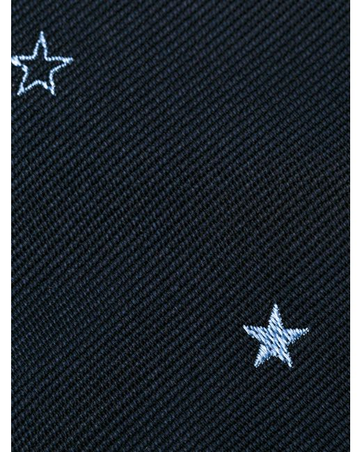 Embroidered Star Tie Paul Smith                                                                                                              синий цвет