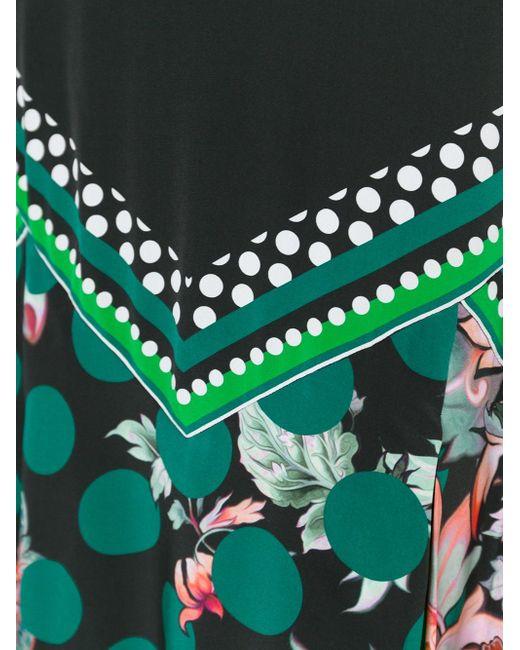 Юбка С С Цветочным Принтом Roberto Cavalli                                                                                                              многоцветный цвет