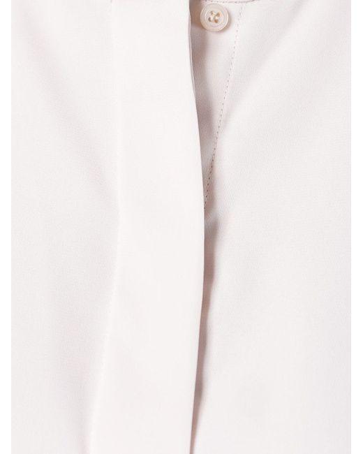 Блузка С Нагрудной Панелью By Malene Birger                                                                                                              розовый цвет