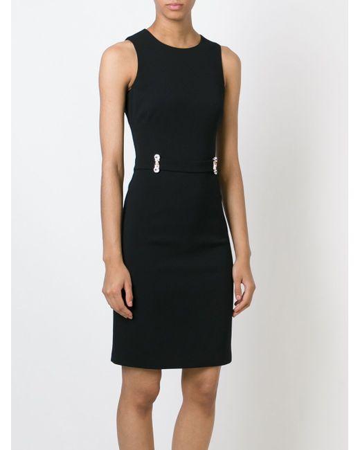 Платье Rabiosa Philipp Plein                                                                                                              чёрный цвет