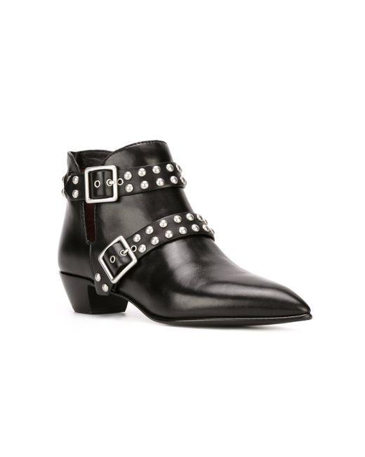 Ботинки По Щиколотку True Rebel Carroll Marc by Marc Jacobs                                                                                                              чёрный цвет