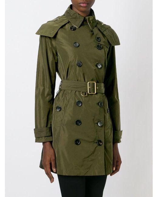 Тренч С Поясом Burberry Brit                                                                                                              зелёный цвет