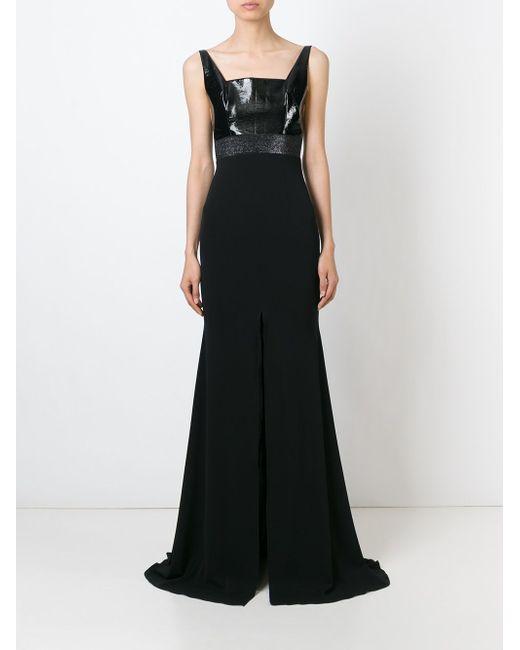 Вечернее Платье Paulette ALEX PERRY                                                                                                              чёрный цвет