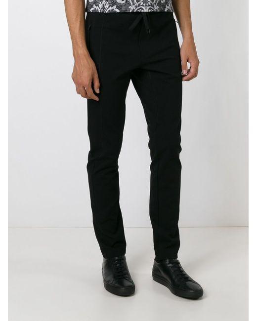 Спортивные Брюки С Видным Швом Dolce & Gabbana                                                                                                              чёрный цвет