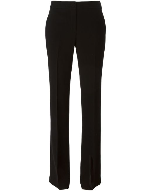 Boot-Cut Trousers Tory Burch                                                                                                              чёрный цвет
