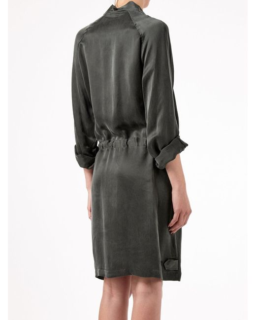 Платье На Резинке Ann Demeulemeester                                                                                                              зелёный цвет