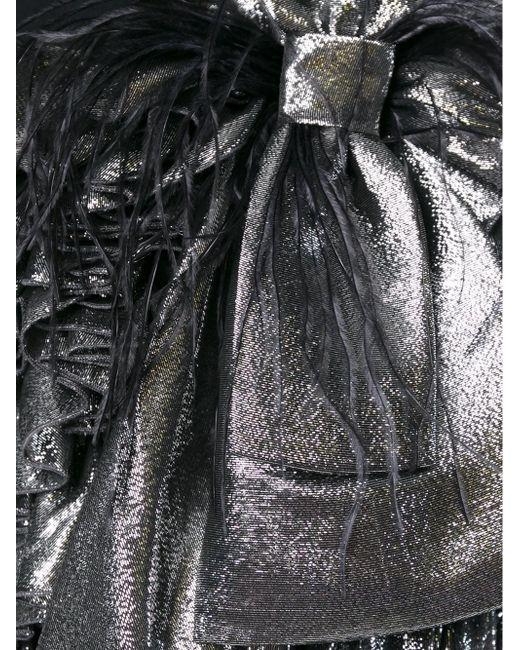 Ruffled Mini Skirt Faith Connexion                                                                                                              чёрный цвет