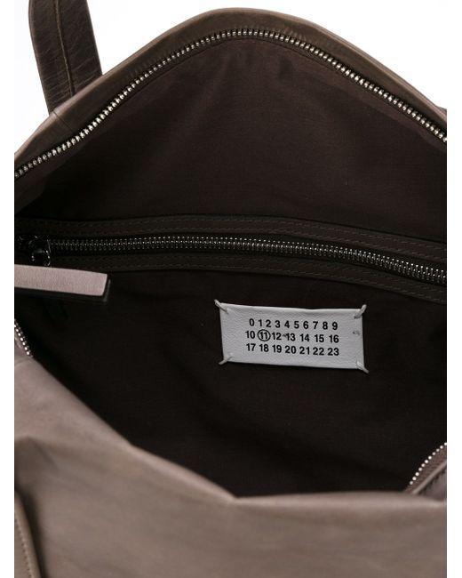 Сумка С Состаренным Эффектом Maison Margiela                                                                                                              коричневый цвет