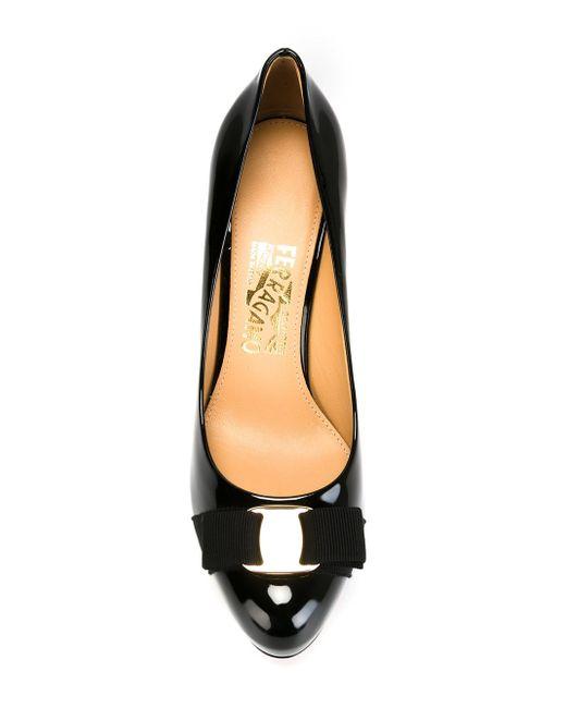 Туфли Pimpa Salvatore Ferragamo                                                                                                              чёрный цвет