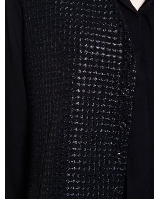 Текстурированная Жилетка Ann Demeulemeester                                                                                                              чёрный цвет