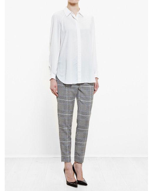 Shirt With Fringe Detailing 3.1 Phillip Lim                                                                                                              белый цвет