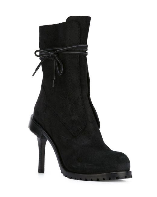 Ботинки 152x3663 A.F.Vandevorst                                                                                                              чёрный цвет
