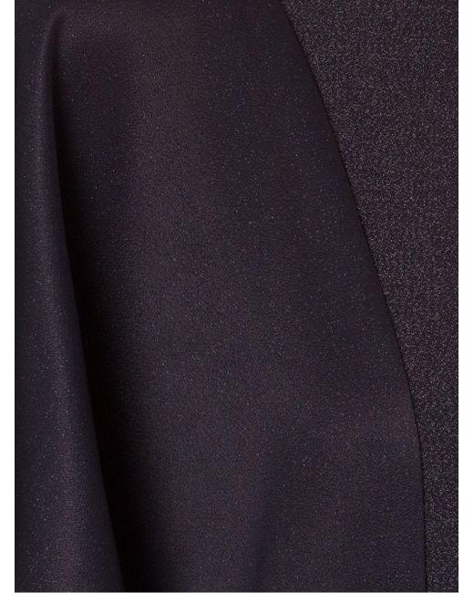 Асимметричное Длинное Платье С Оборками FERNANDA YAMAMOTO                                                                                                              чёрный цвет