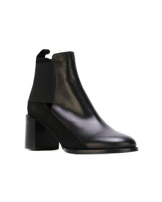Ботинки По Щиколотку С Эластичными Панелями See By Chloe                                                                                                              чёрный цвет