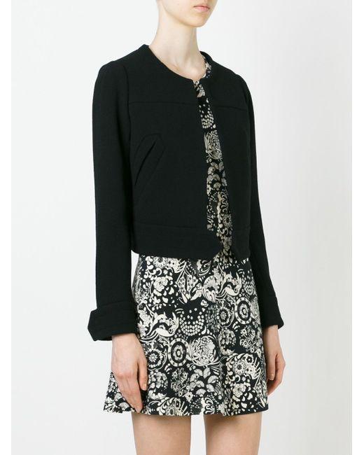 Укороченный Пиджак Chloe                                                                                                              чёрный цвет