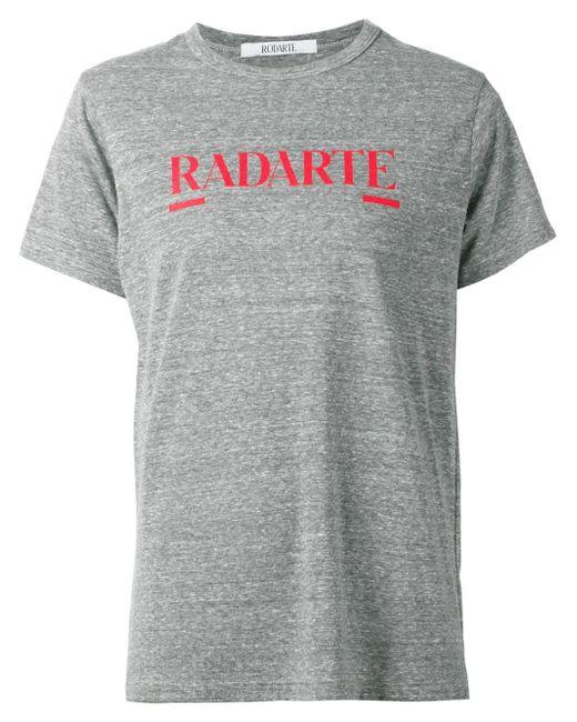 Футболка Radarte Rodarte                                                                                                              серый цвет