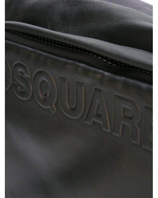 Сумка-Почтальонка Postman Dsquared2                                                                                                              чёрный цвет