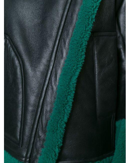 Драпированное Пальто Kenzo                                                                                                              чёрный цвет