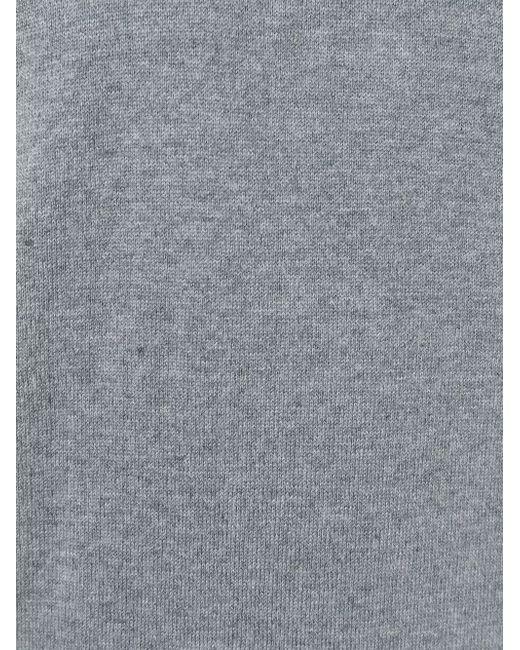 Свитер C V-Образным Вырезом Paul Smith                                                                                                              серый цвет