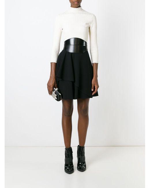 Декорированный Клатч-Футляр Alexander McQueen                                                                                                              чёрный цвет