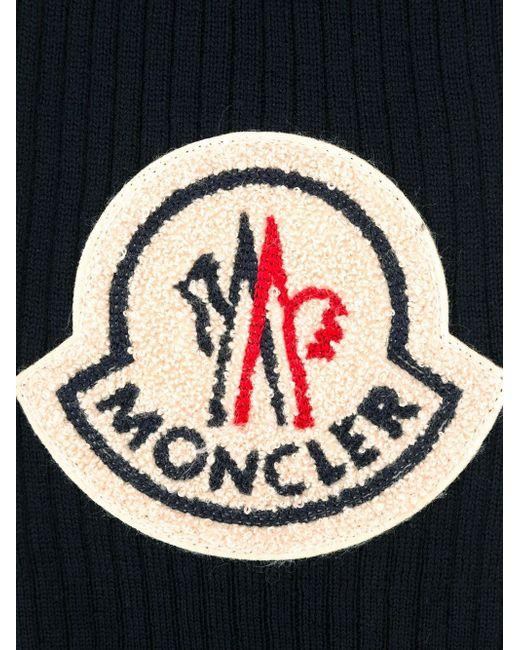 Шарф С Вышитым Логотипом MONCLER X AMI                                                                                                              синий цвет