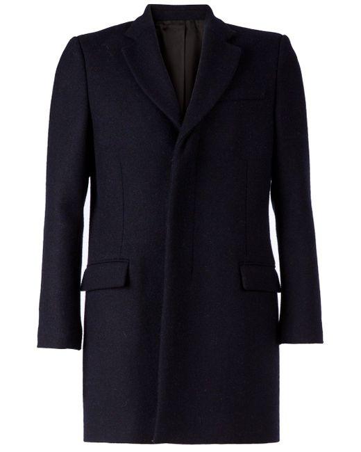 Короткое Однобортное Пальто Faith Connexion                                                                                                              синий цвет