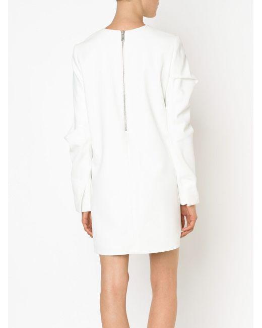 Платье-Шифт С Круглым Вырезом Vera Wang                                                                                                              белый цвет