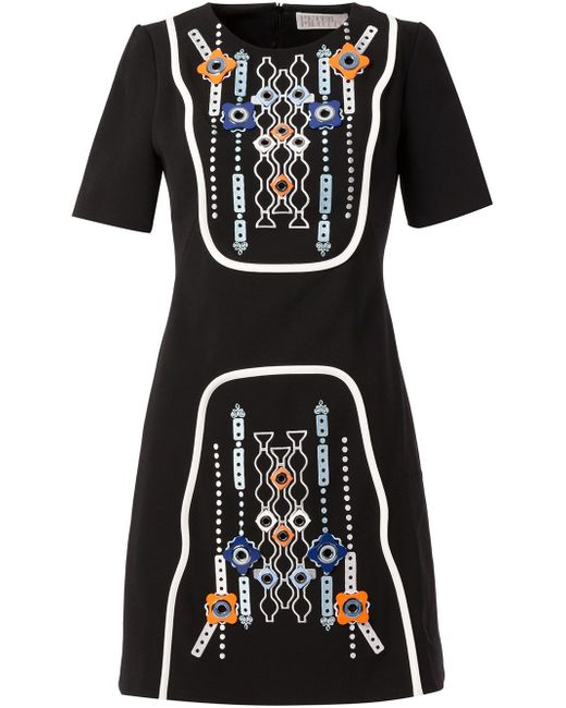 Embellished A-Line Dress Peter Pilotto                                                                                                              чёрный цвет
