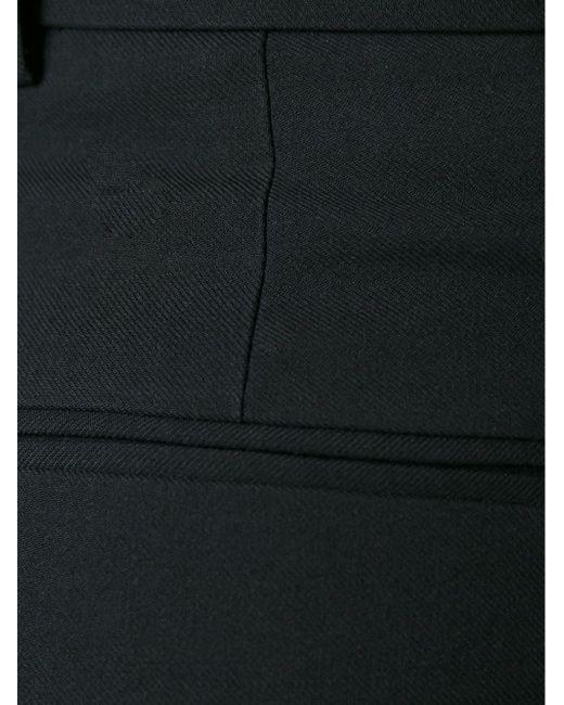 Укороченные Широкие Брюки Red Valentino                                                                                                              чёрный цвет