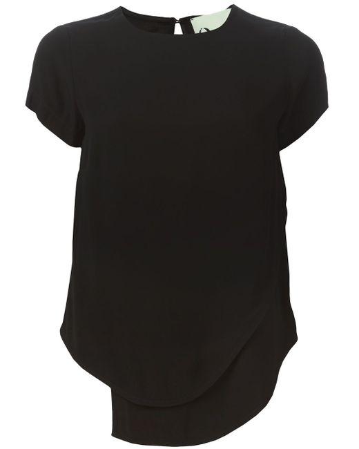 Многослойная Блузка 8pm                                                                                                              чёрный цвет