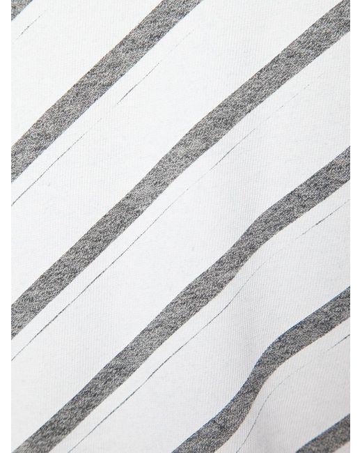Футболка С Длинными Рукавами OFF-WHITE                                                                                                              серый цвет