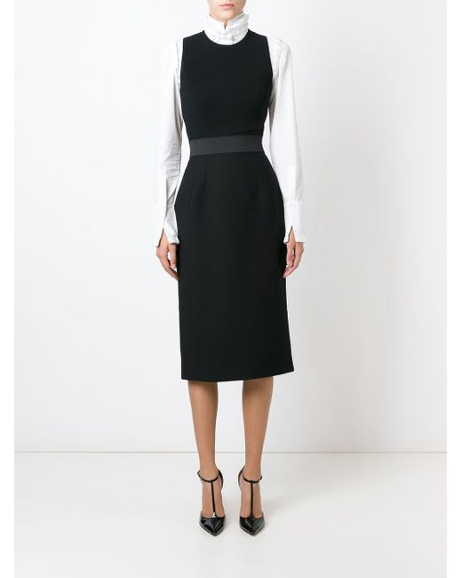 Юбка Прямого Кроя Dolce & Gabbana                                                                                                              чёрный цвет