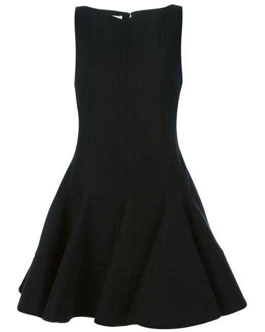 Платье А-Образного Силуэта Antonio Berardi                                                                                                              чёрный цвет