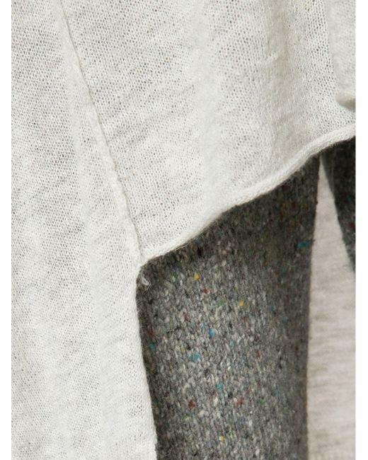 Свитер С Асимметричным Подолом SOYER                                                                                                              серый цвет