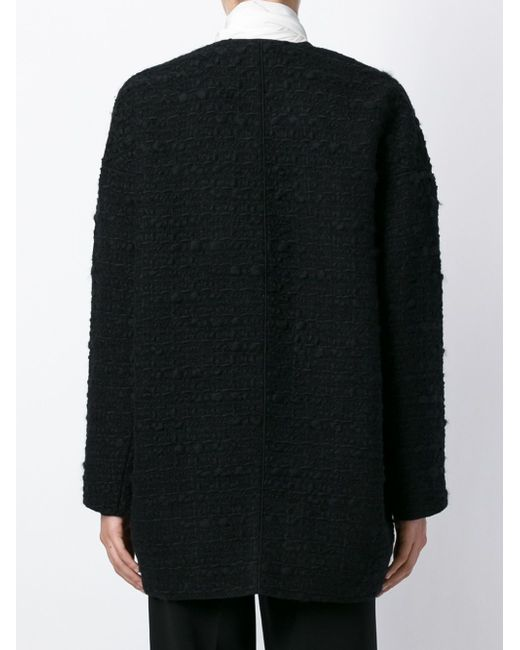 Пальто Букле Giambattista Valli                                                                                                              чёрный цвет