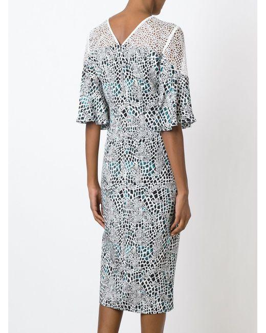 Многосйлоное Платье Oceanic GINGER & SMART                                                                                                              многоцветный цвет