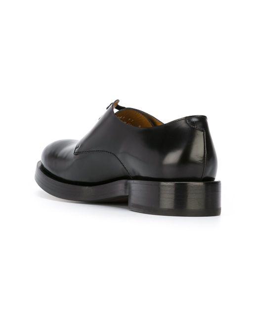 Туфли На Толстой Подошве Paul Smith                                                                                                              чёрный цвет