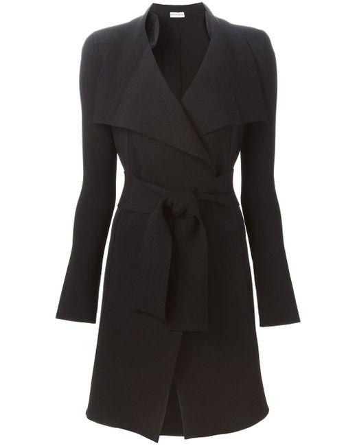 Пальто С Поясом SCANLAN THEODORE                                                                                                              чёрный цвет