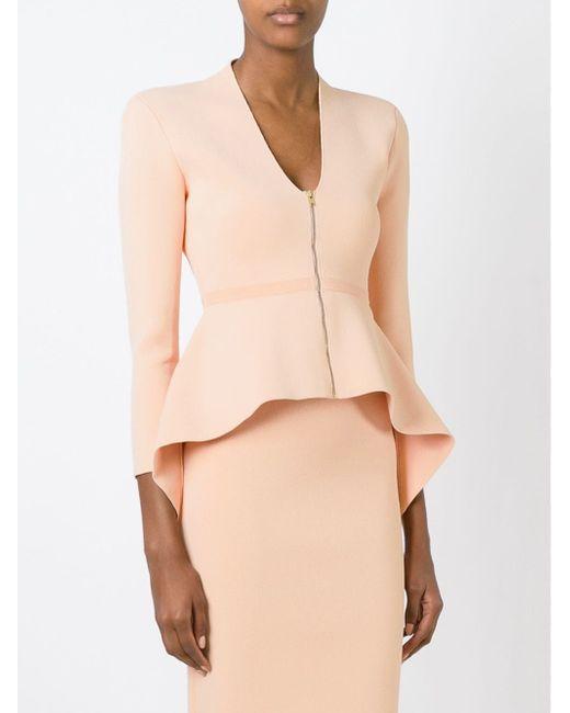 Блузка С Баской SCANLAN THEODORE                                                                                                              Nude & Neutrals цвет