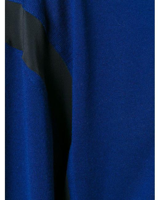 Свитер С Круглым Вырезом Alexander Wang                                                                                                              синий цвет