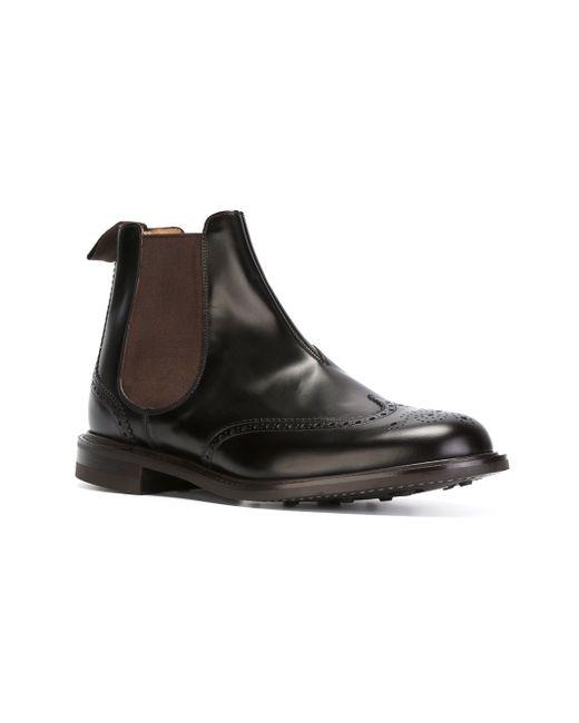 Ботинки Cransley Church'S                                                                                                              чёрный цвет