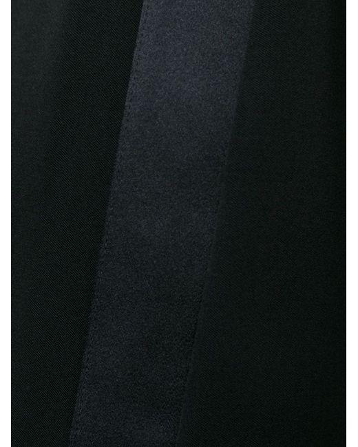 Укороченные Широкие Брюки JUNYA WATANABE COMME DES GARCONS                                                                                                              чёрный цвет