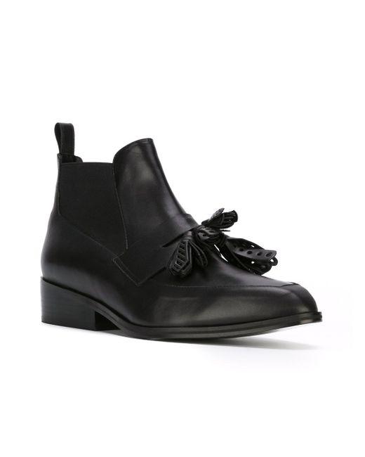 Ботинки Xoda Robert Clergerie                                                                                                              чёрный цвет