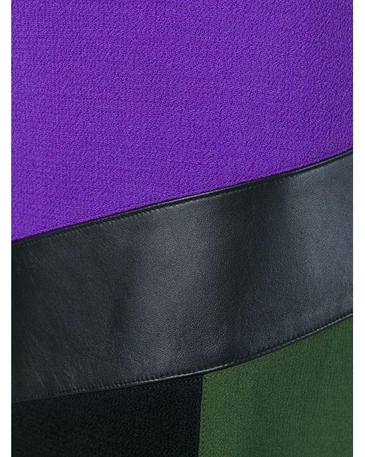 Юбка С Панельным Дизайном Emanuel Ungaro                                                                                                              чёрный цвет