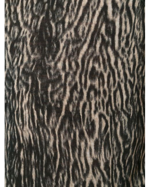 Майка С Леопардовым Принтом Haider Ackermann                                                                                                              чёрный цвет