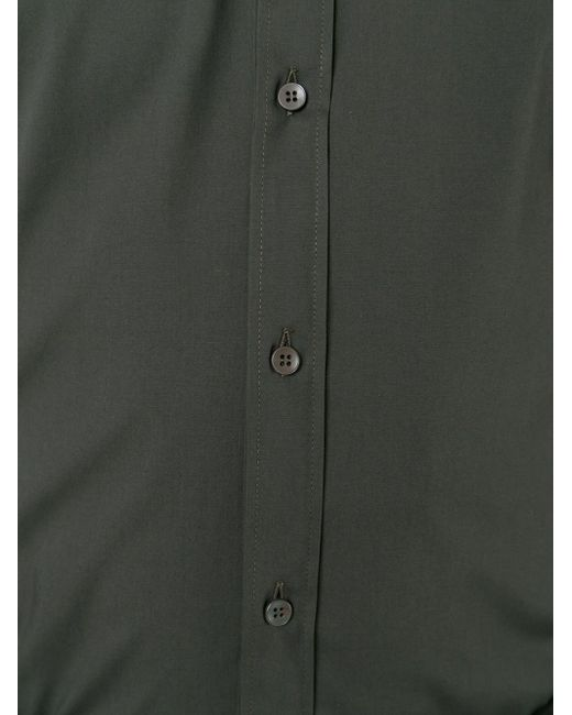 Классическая Рубашка Dolce & Gabbana                                                                                                              зелёный цвет
