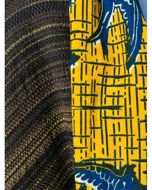 Двухсторонняя Накидка С Узором ERMANNO GALLAMINI                                                                                                              многоцветный цвет