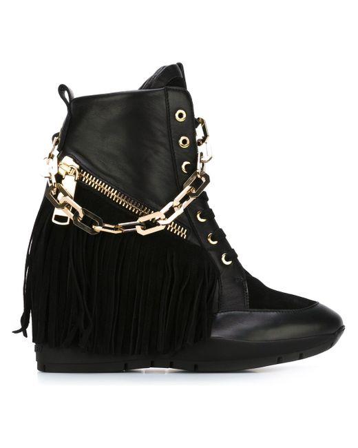 Ботинки Manituou Dsquared2                                                                                                              чёрный цвет