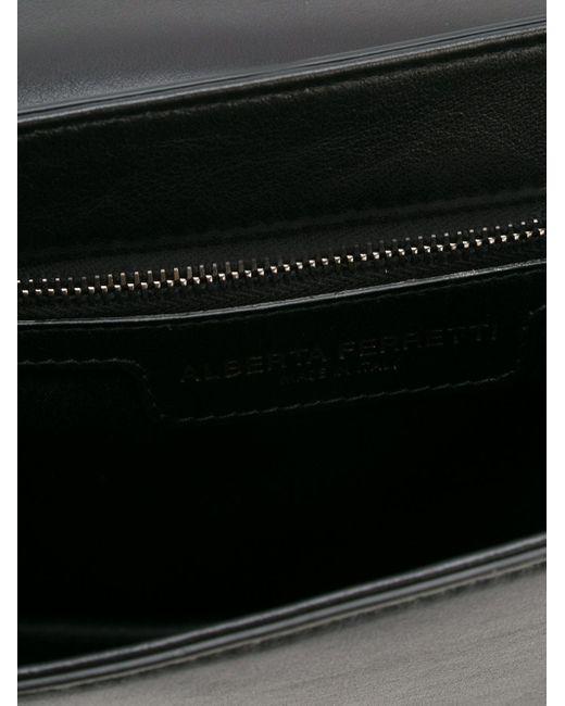 Декорированная Сумка Через Плечо Alberta Ferretti                                                                                                              чёрный цвет